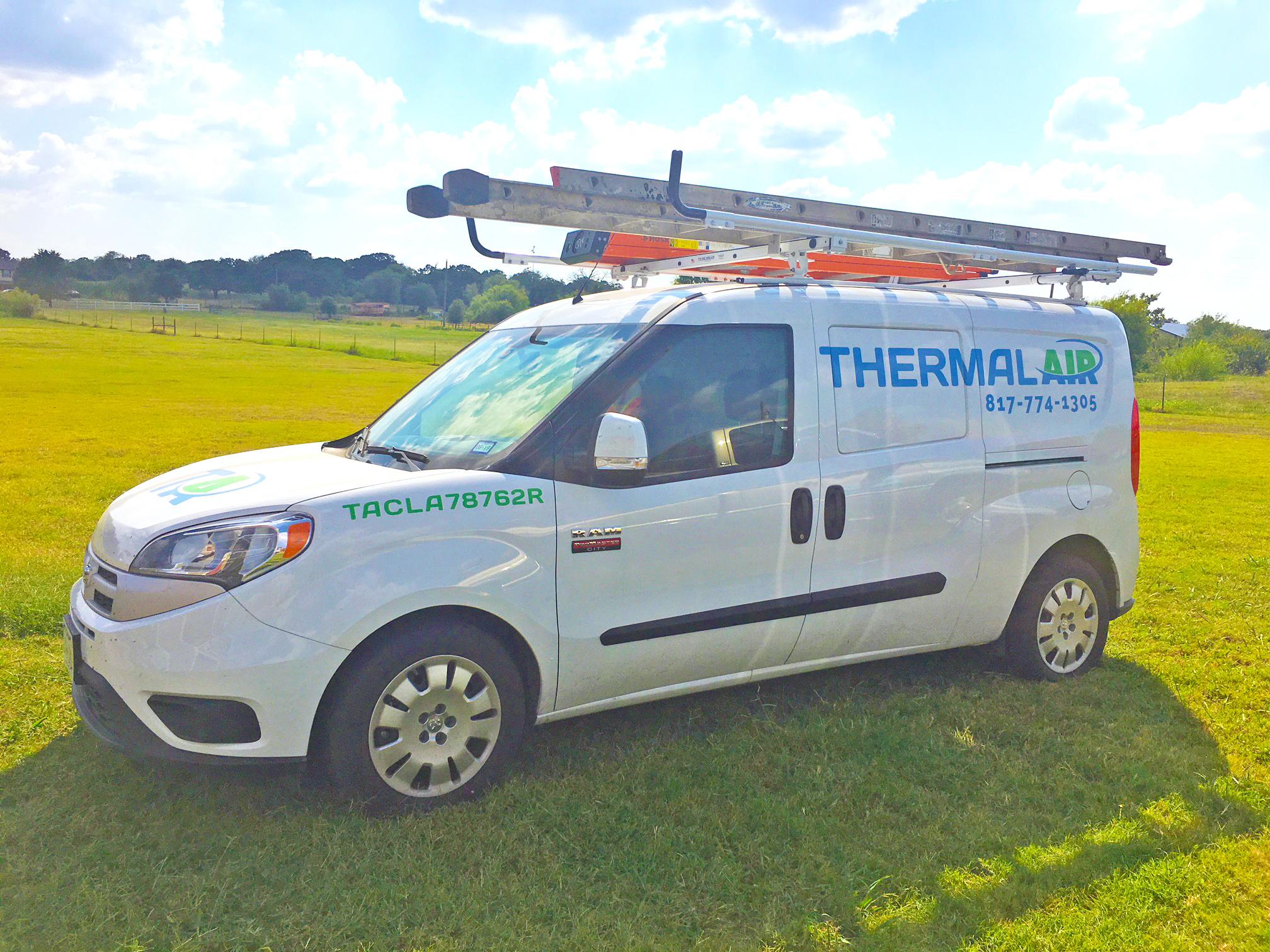 Thermal Air Work Van